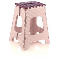Skládací stolička 45,5 cm Inlea4Home - fialová