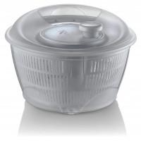 Odstředivka na salát 5 l Inlea4Home - šedá