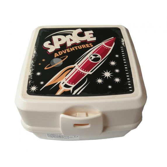 Potravinový box na občerstvení s příborem Inlea4Home -SPACE