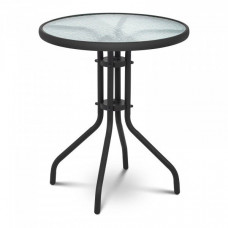 Zahradní stůl 60 x60x70  cm - černý Preview
