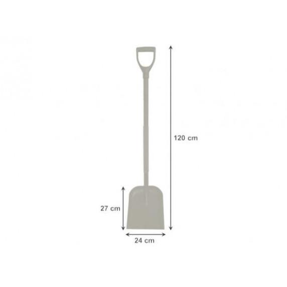 Lopata s ocelovou násadou 120 cm - GARDEN LINE