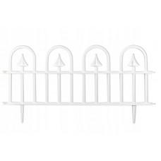 GARDEN LINE Záhradní plastový plot BÍLÝ 60 x 30,5 cm - sada 4 ks Preview