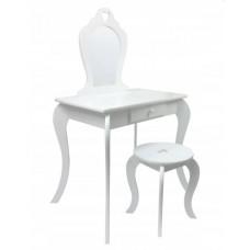 Inlea4Fun Toaletní stolek - bílý Preview