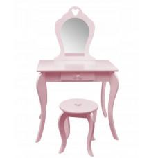 Inlea4Fun Toaletní stolek-růžový Preview