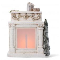 Inlea4Fun Vánoční krb 31 cm s LED světlem Preview