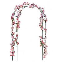 Záhradní pergola na růže 140 x 38 x 240 cm GARDEN LINE