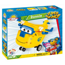 COBI 25124 SUPER WINGS Opravář Donnie žluté letadlo 182 ks Preview