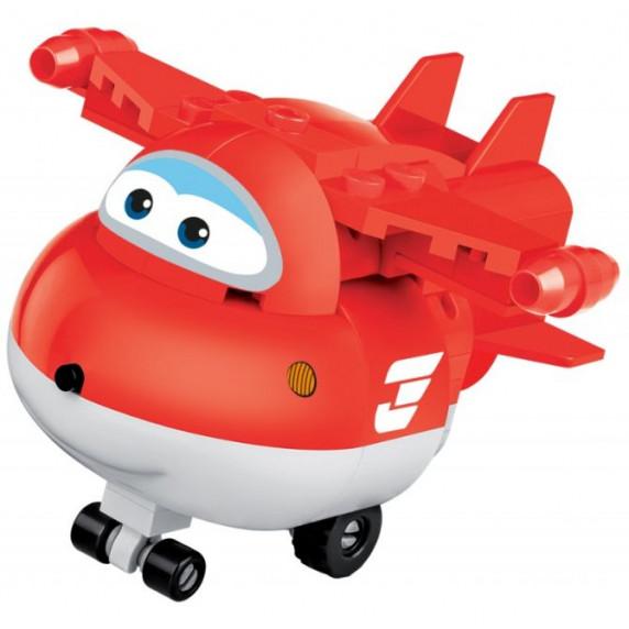 COBI 25126 SUPER WINGS Jett mini červené letadlo 93 ks