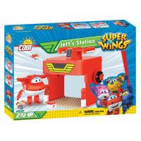 COBI 25133 SUPER WINGS Světobežník Jett a jeho stanice 272 ks
