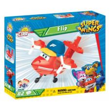 COBI 25136 SUPER WINGS Sporťák Flip mini červené letadlo 82 ks Preview