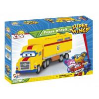 COBI 25137 SUPER WINGS Poppa Wheels Kamion 350 kostek