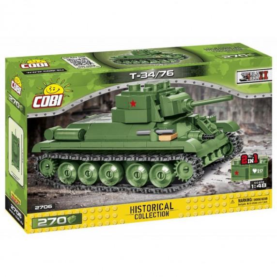 COBI-2706 SMALL ARMY Tank II WW T34/76