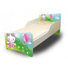 Dětská postel Kočička 160x70 cm Preview