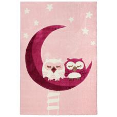 Dětský koberec Sovičky růžová Owl Preview