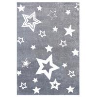 Dětský koberec STARLIGHT šedá/bílá - 130 x 190 cm