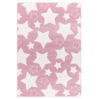 Dětský koberec SKY růžový - 120x180 cm