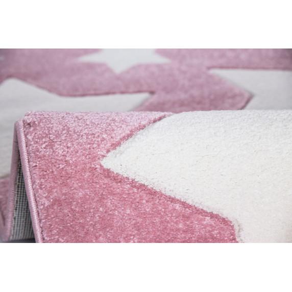Dětský koberec SKY růžový - 100x160 cm