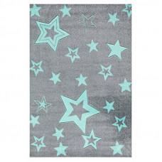 Dětský koberec STARLIGHT grau/mint - 100x160 cm Preview