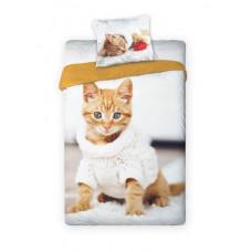 Dětské povlečení Kocourek 001 Cat Preview