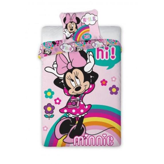 Dětské povlečení Minnie Mouse Hi! 140 x 200 cm