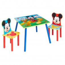 Dětský stolek se židlemi Mickey Mouse Preview
