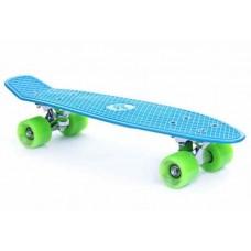 Skateboard SPOKEY CRUISER - modrý Preview