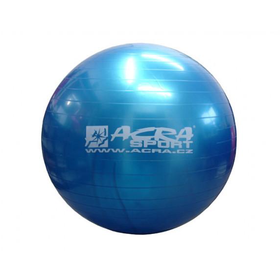 Míč gymnastická (Gymball) 650 mm modrá