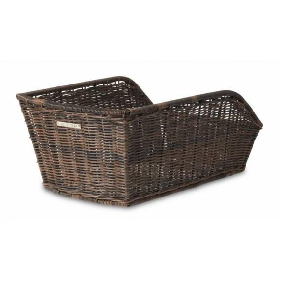 Zadní košík BASIL CENTO RATTAN LOOK - hnědý