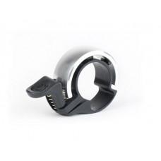 KNOG OI Classic zvonek na kolo - stříbrný malý Preview