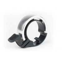 KNOG OI Classic zvonek na kolo - stříbrný velký