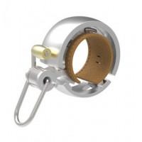 KNOG OI Luxe zvonek na kolo - stříbrný malý