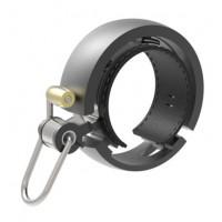 KNOG OI Luxe zvonek na kolo - černý velký