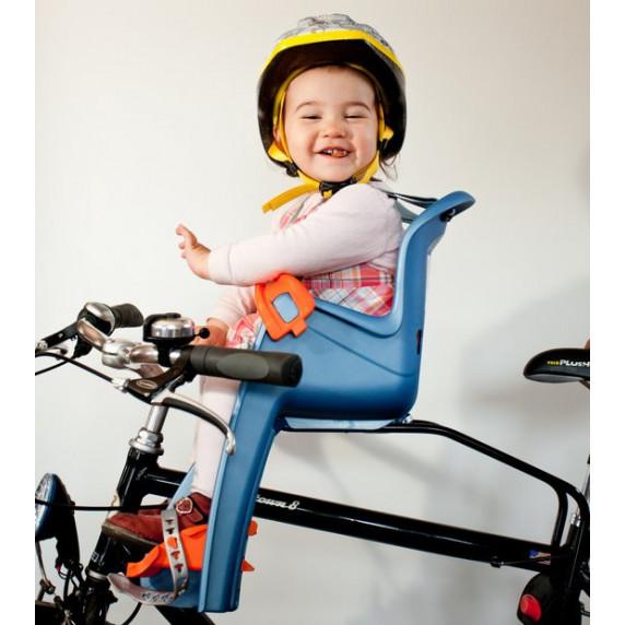 POLISPORT Bilby Junior cyklosedačka - fialový/tmavě šedý