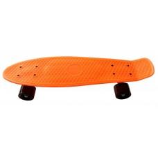 Skateboard PLASTIC - oranžový Preview