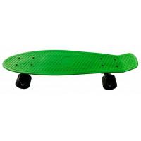 Skateboard PLASTIC - zelený