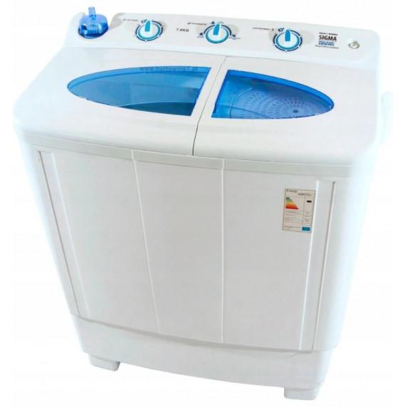 Pračka rotační s odstředivkou na prádlo 7 kg Sigma XPB72-2208SB