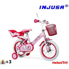 "Injusa HELLO KITTY 12"" Pink 2016 Preview"