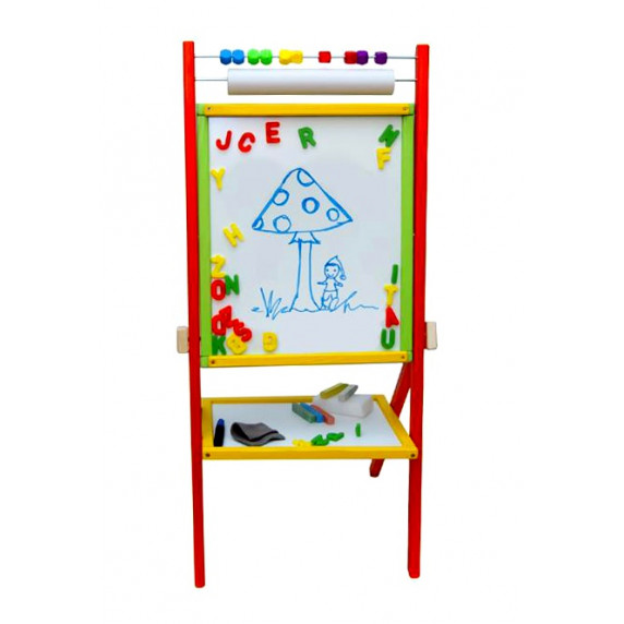 Inlea4Fun Dětská oboustranná tabule Colors