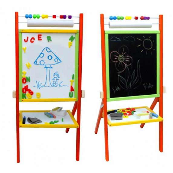 Inlea4Fun Dětská tabule Colors