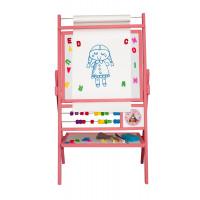 Inlea4Fun Detská tabuľa BIG PINK