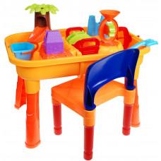 Inlea4Fun Sand and Water Table pískoviště na stolku Preview