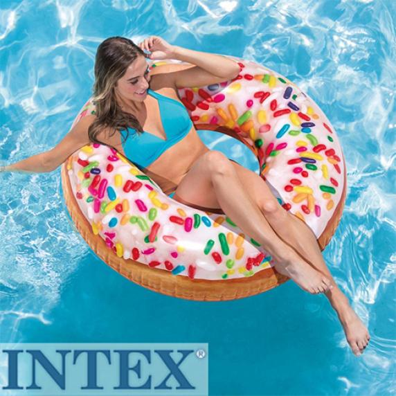 INTEX nafukovací křeslo Sprinkle Donut