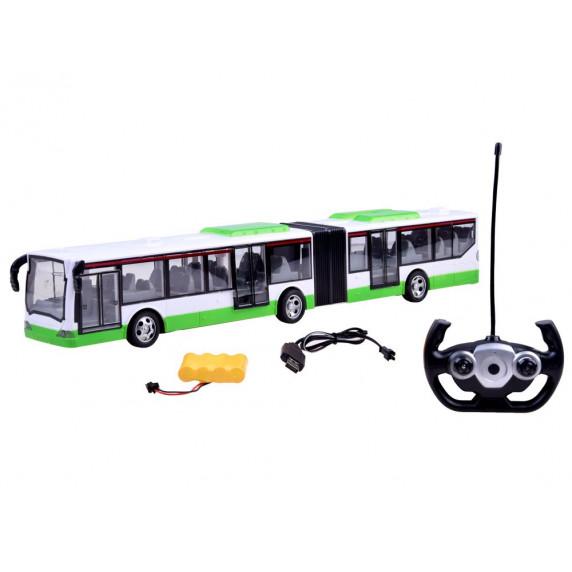 Inlea4Fun RC BUS-G Autobus na dálkové ovládání - zelený