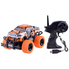 Auto na dálkové ovládání RC Inlea4Fun MONSTER TRUCK - oranžové Preview