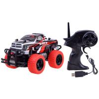 Auto na dálkové ovládání RC Inlea4Fun MONSTER TRUCK - červené