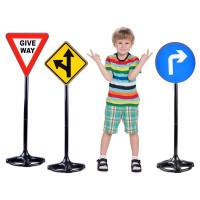 Dětské dopravní značky 83 cm Inlea4Fun TRAFFIC SIGN