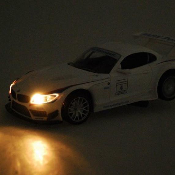 Inlea4Fun RC sportovní auto BMW Z4 GT3 1:24 bílé