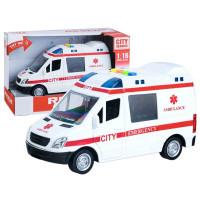 Inlea4Fun záchranářské auto City Service 22 cm