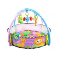 Hrací deka s barevnými míčky 2v1 Inlea4Fun BABY ACTIVITY Preview