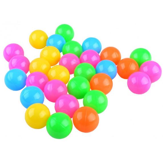 Hrací deka s barevnými míčky 2v1 Inlea4Fun BABY ACTIVITY